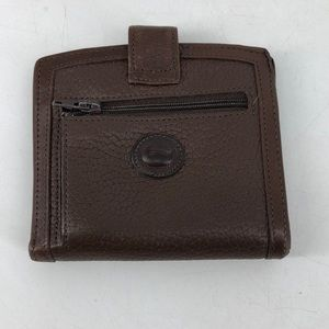 Dooney & Bourke Brown leather wallet small